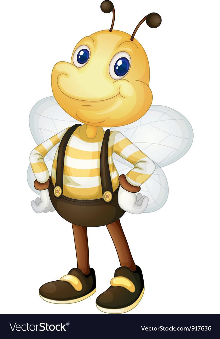 Bumblebee vector image