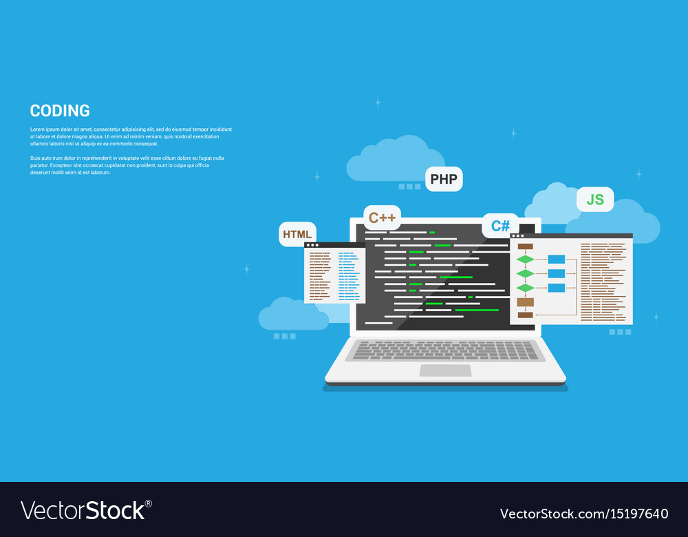 Coding vector image