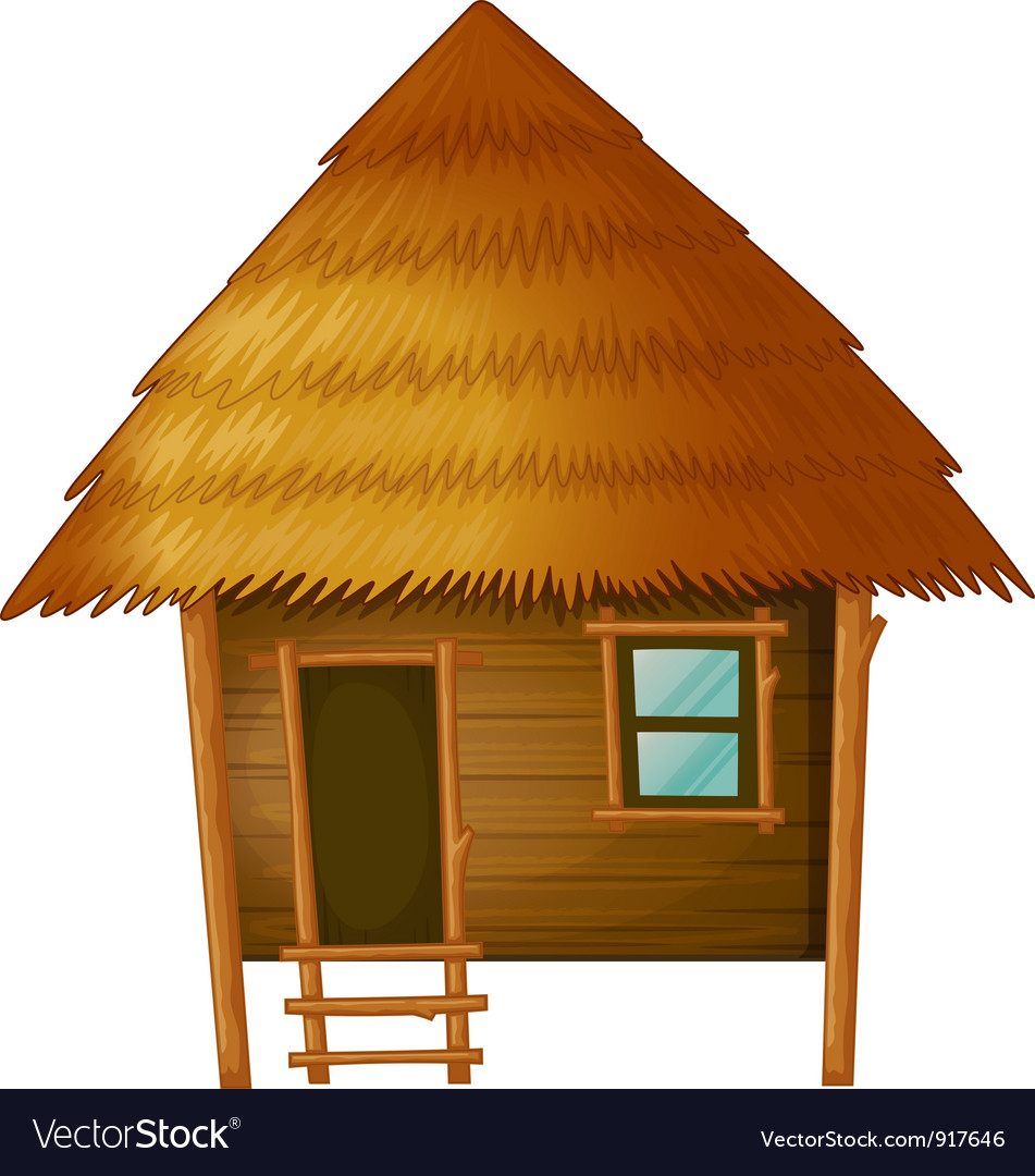 cartoon hut royalty free vector image vectorstock log cabin clip art images log cabin clipart black and white