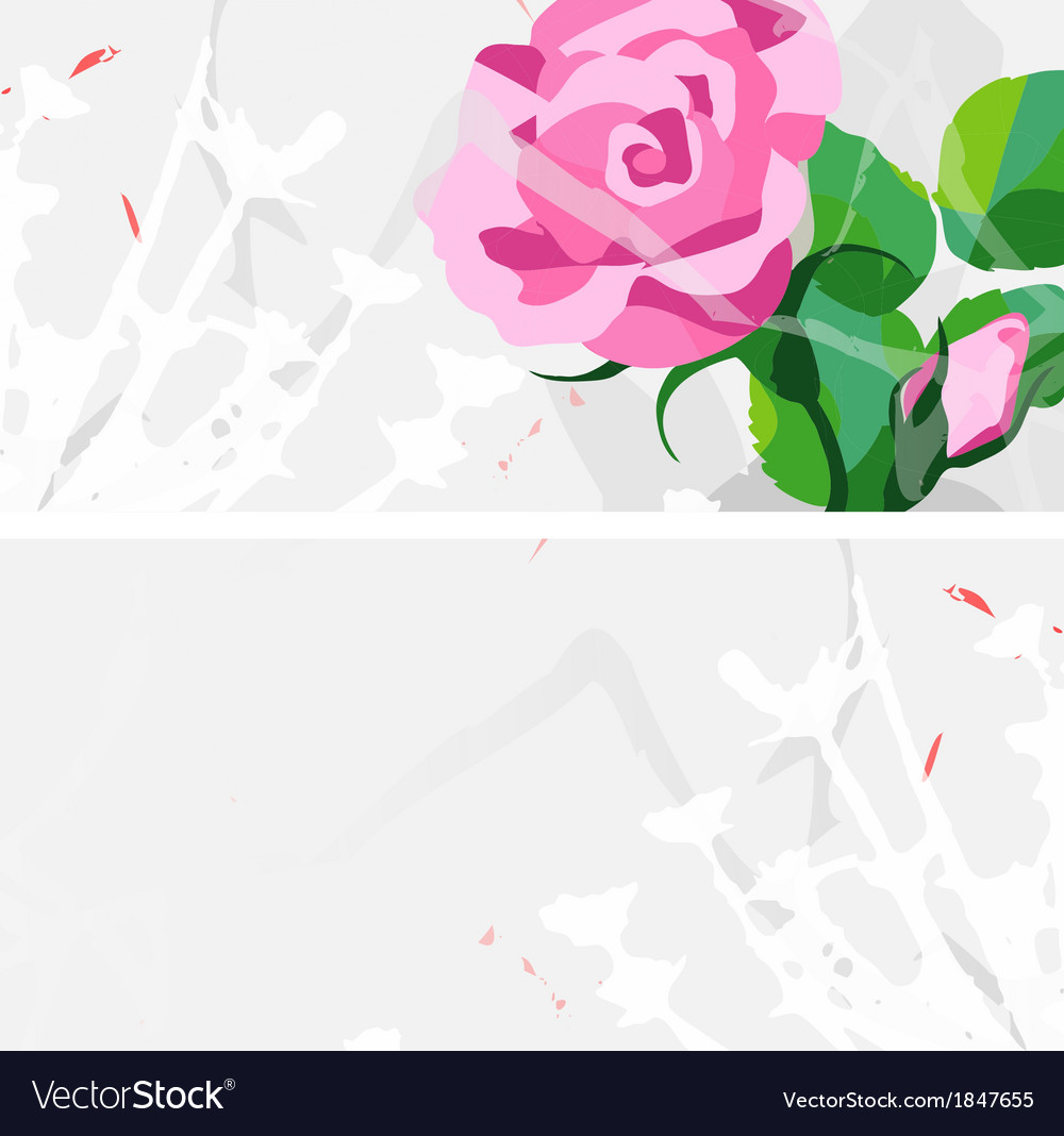 Card design vector image