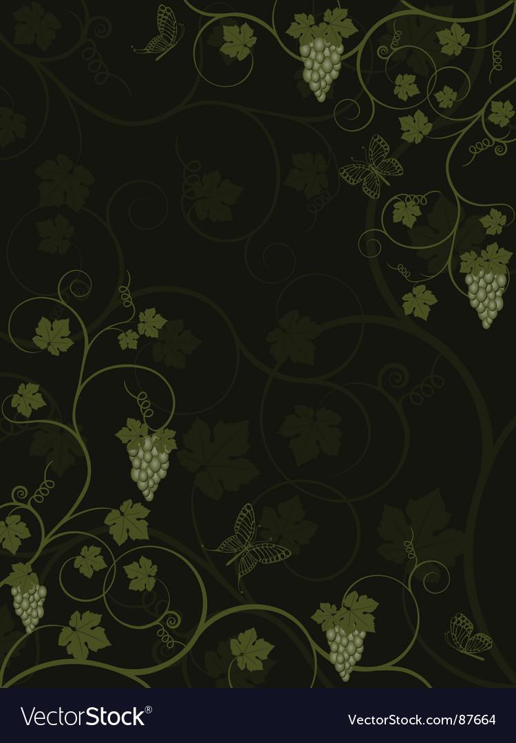 Vine Vector Image