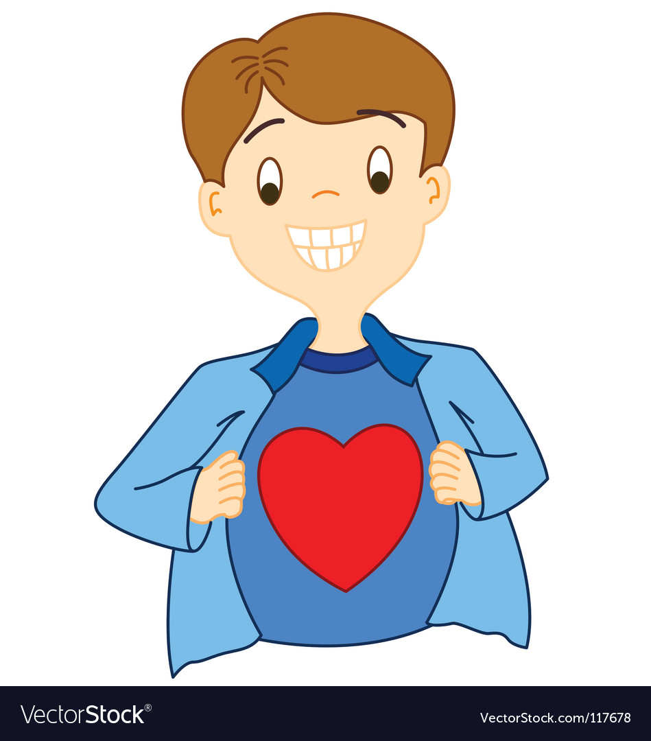 Super love Vector Image