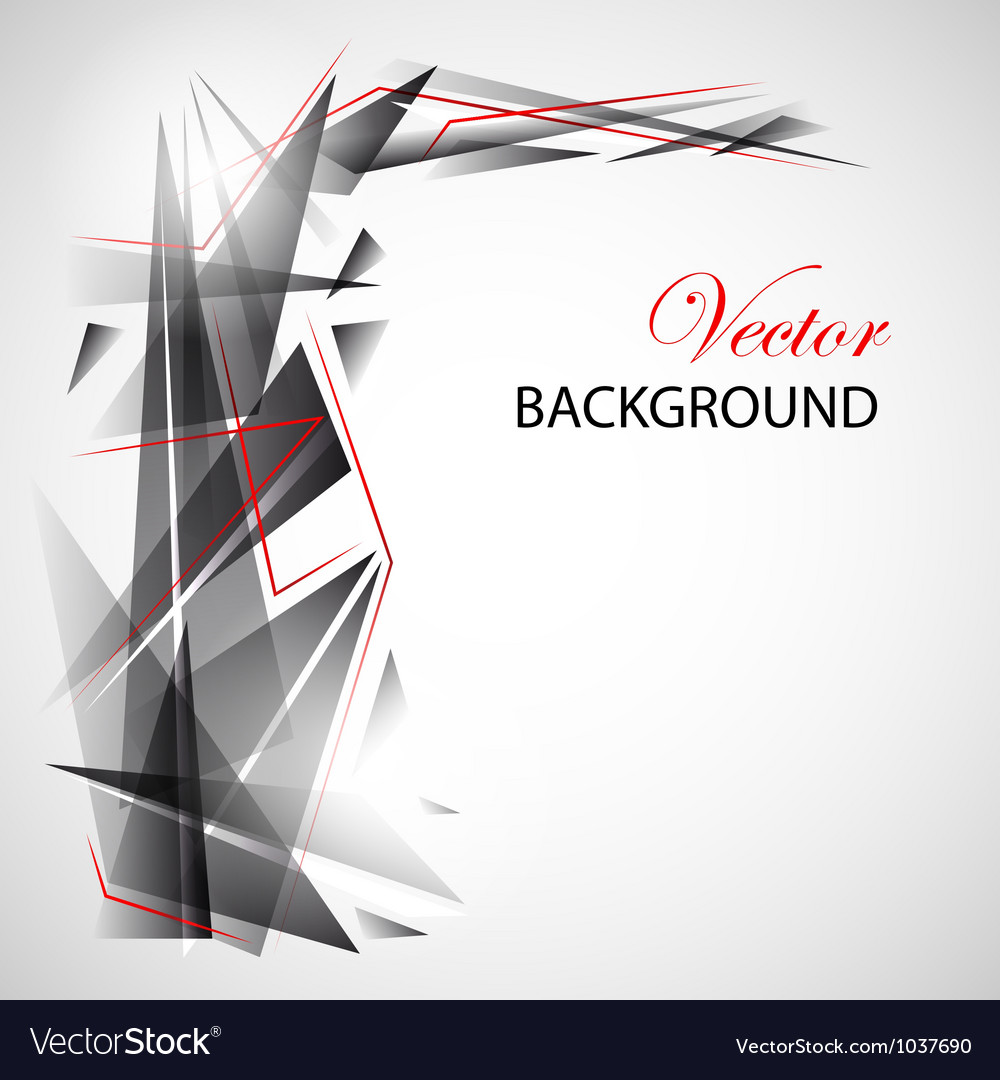 Gray gradient abstraction vector image