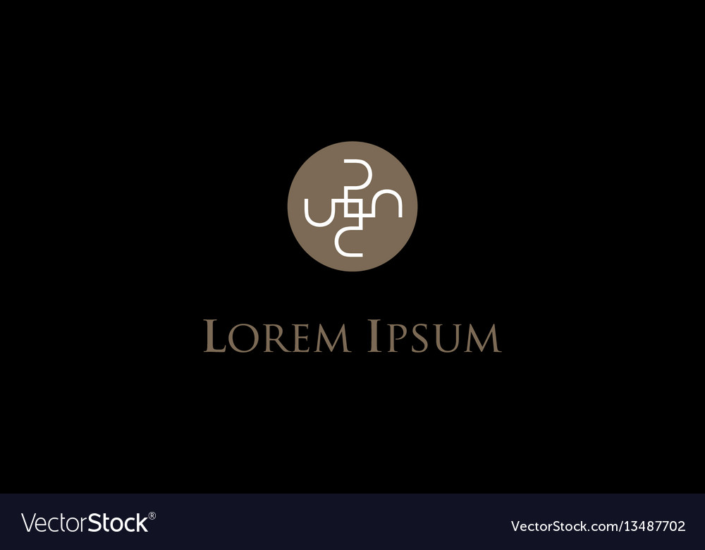 Luxurious concept icon vector image