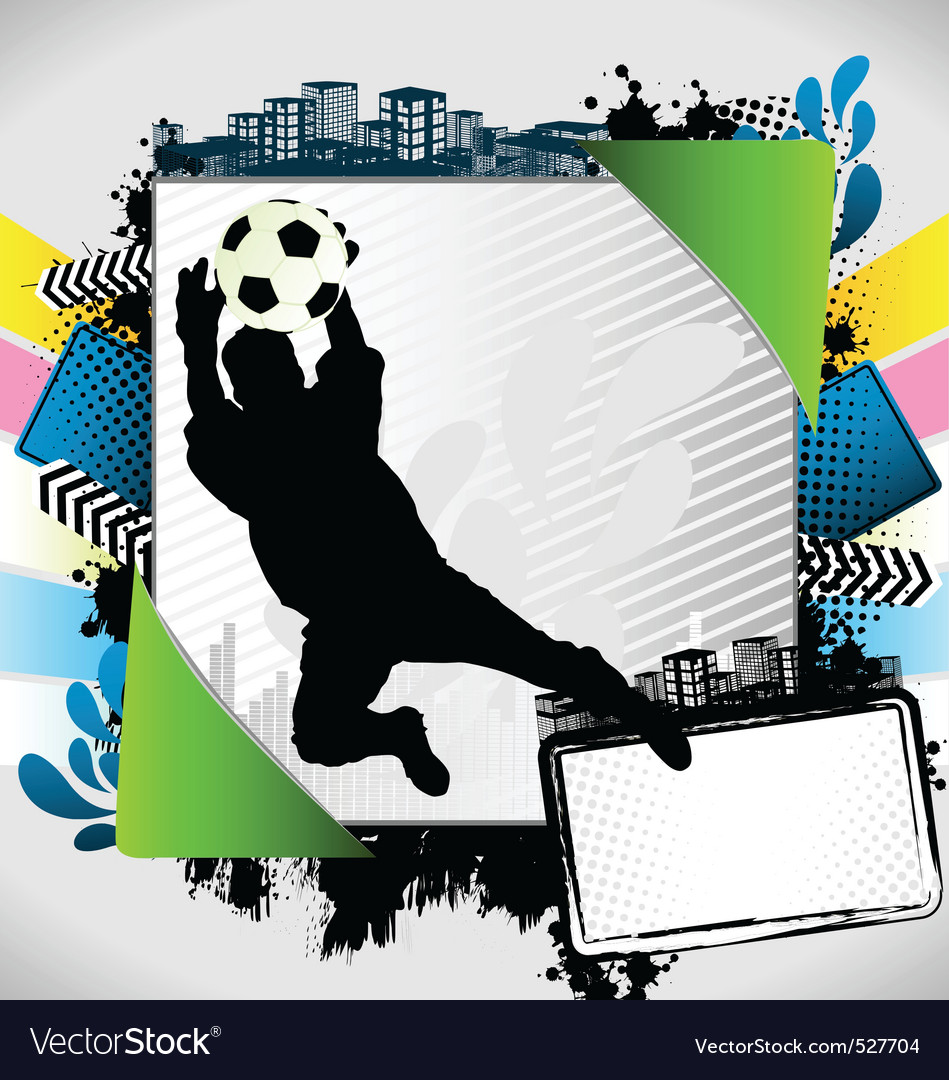 Abstract soccer summer frame royalty free vector image abstract soccer summer frame vector image jeuxipadfo Images