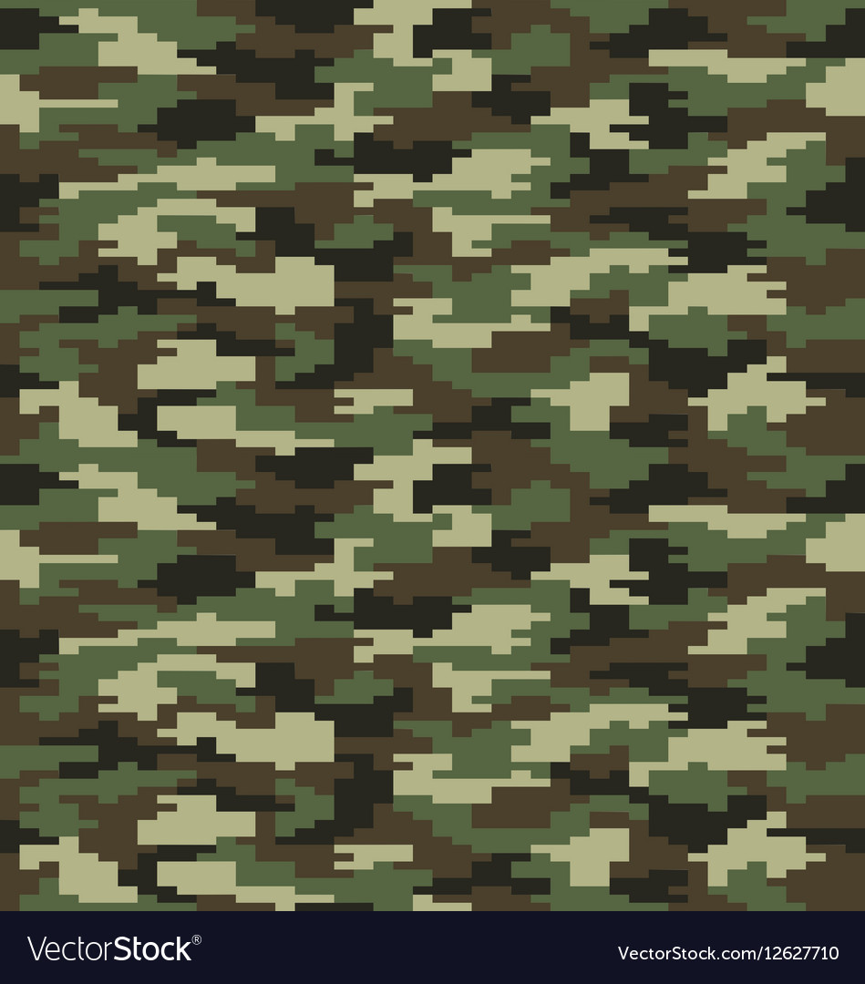 Fashion camouflage seamless vector image