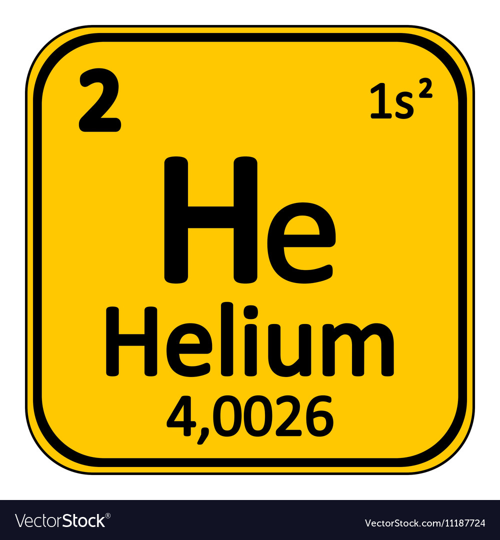 Periodic table element helium icon royalty free vector image periodic table element helium icon vector image buycottarizona