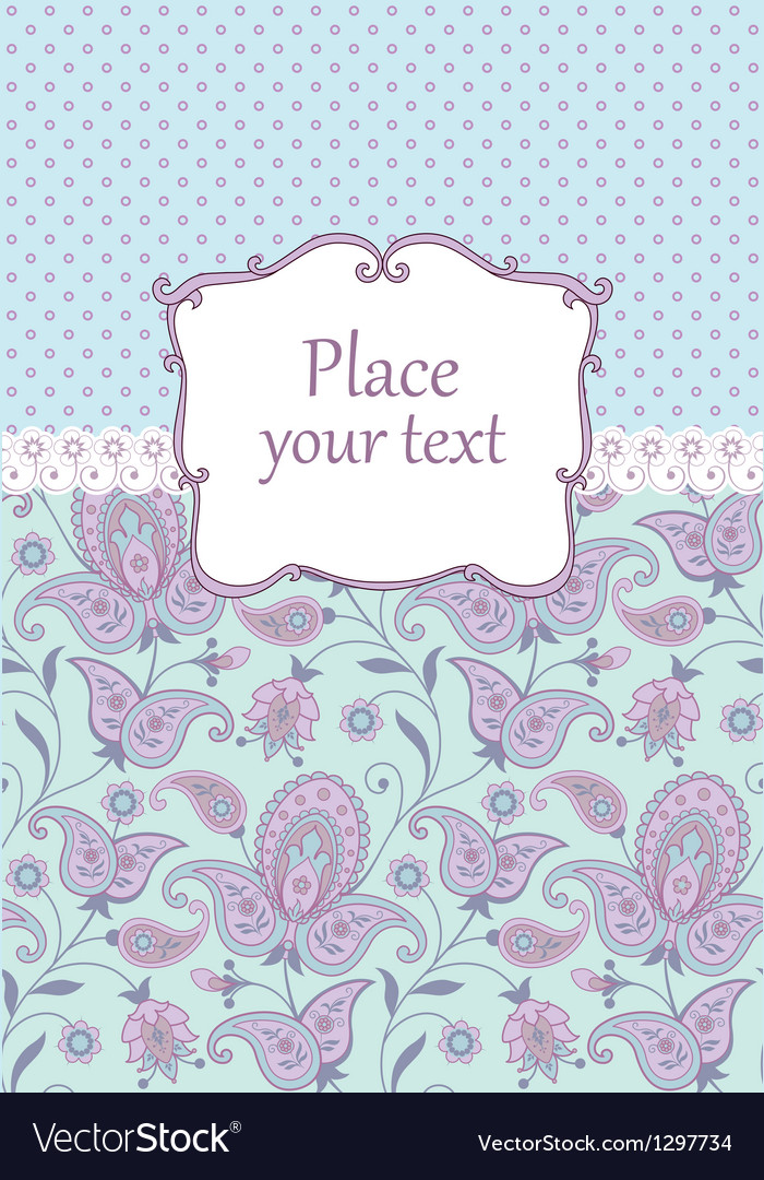 Scrapbook vintage background vector image