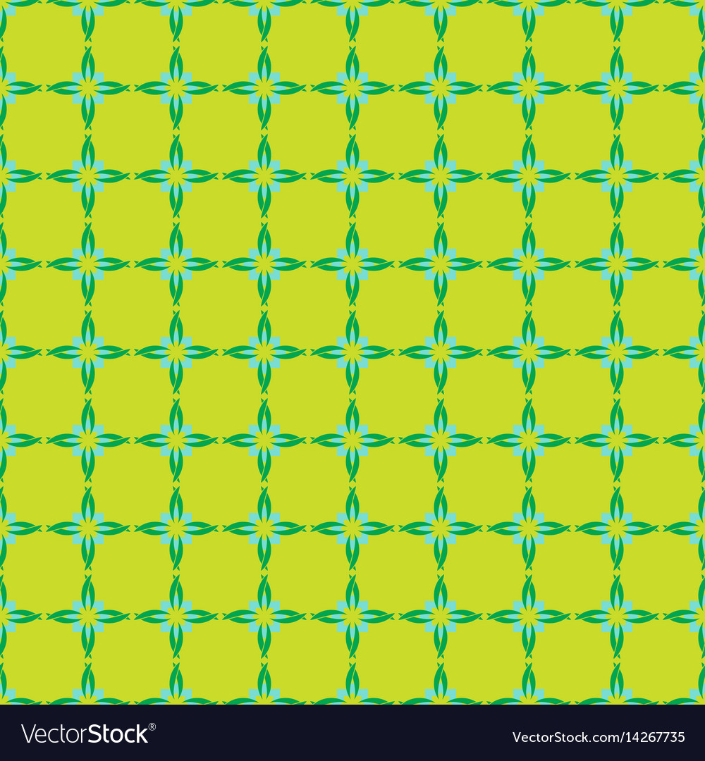 Abstrat vintage seamless pattern vector image