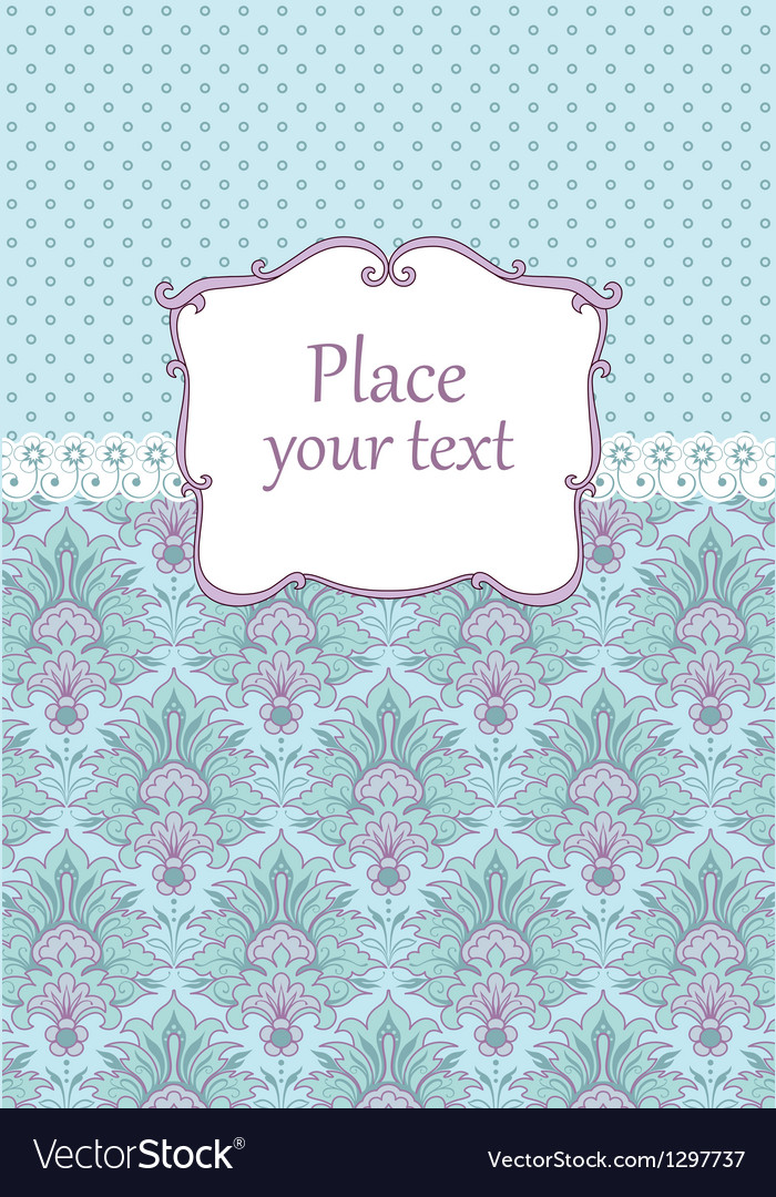 Vintage Scrapbook background vector image