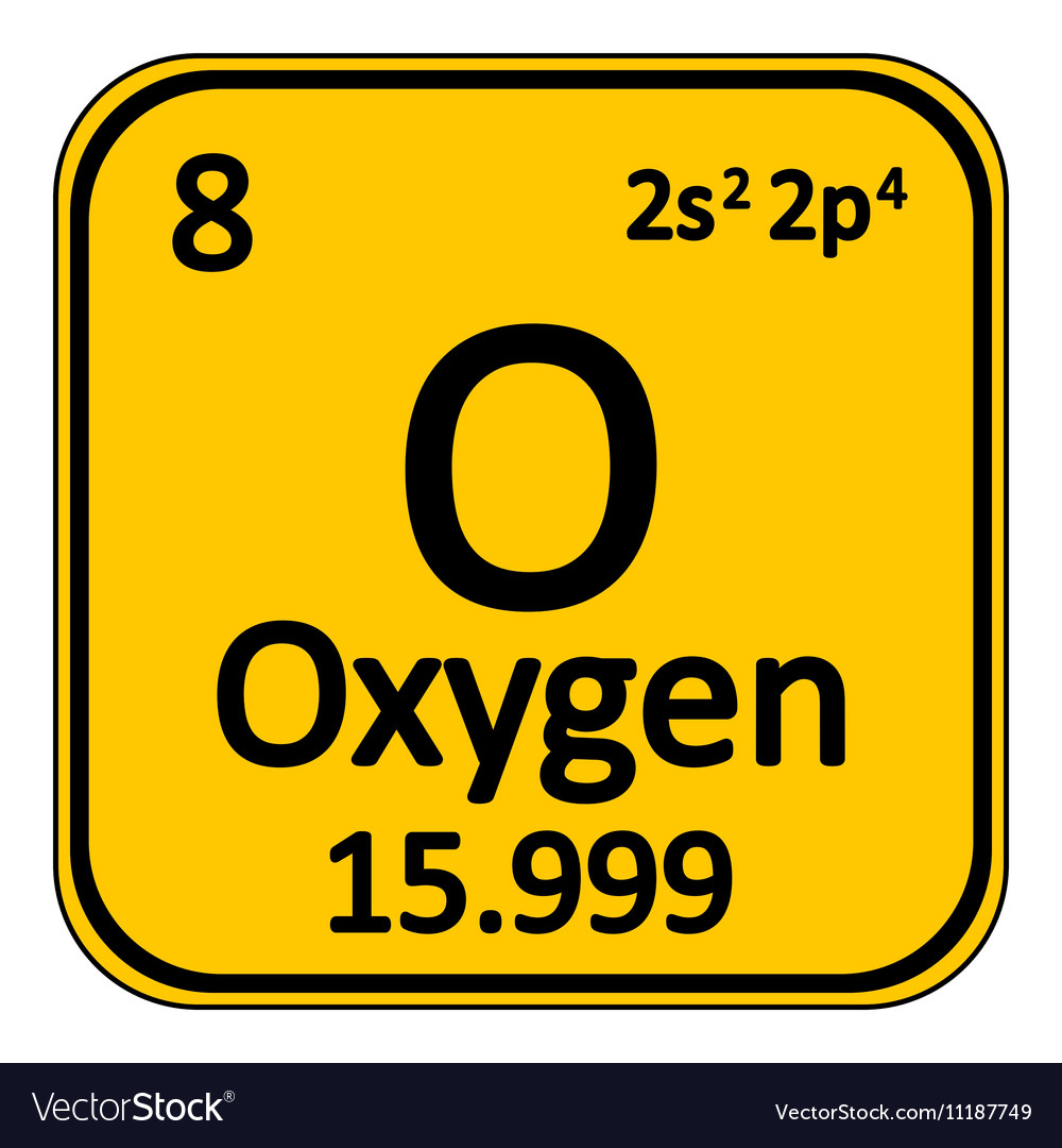 Periodic table element oxygen icon royalty free vector image periodic table element oxygen icon vector image urtaz Choice Image