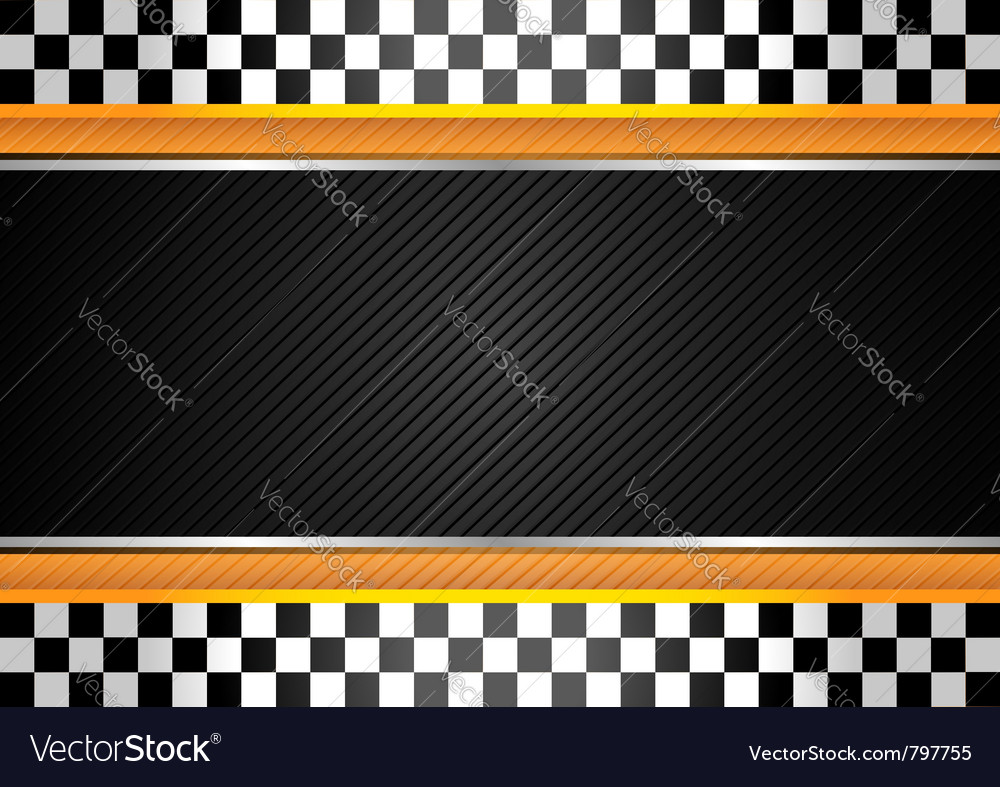 Racing striped background vector image
