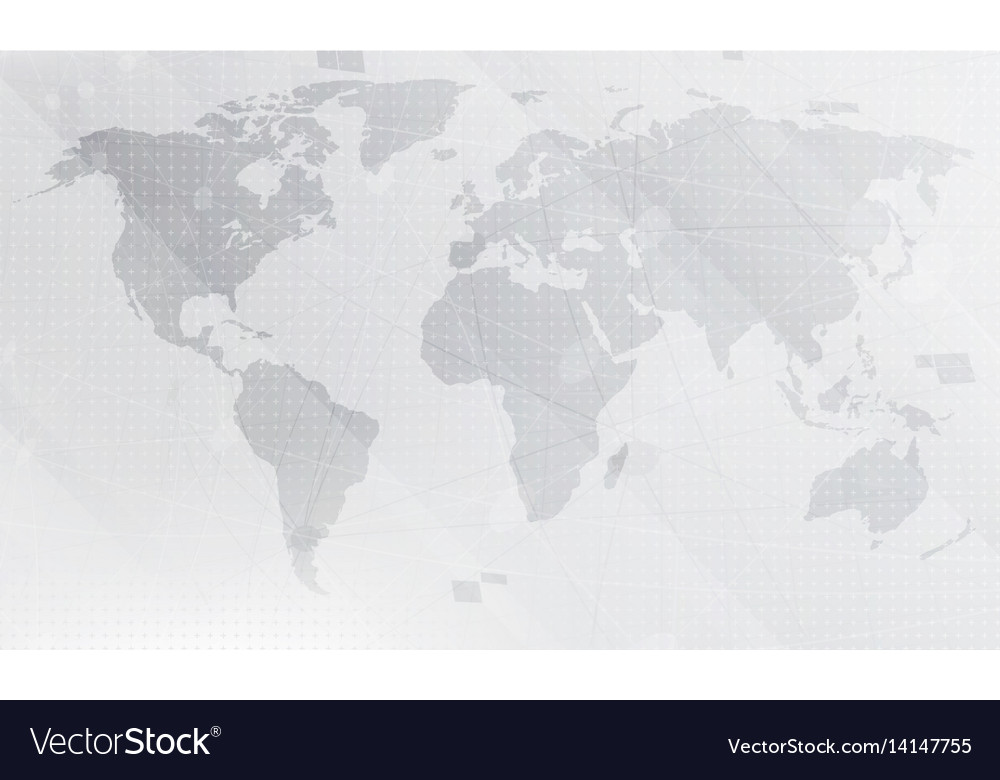 Abstract light grey world map background digital vector image abstract light grey world map background digital vector image gumiabroncs Gallery