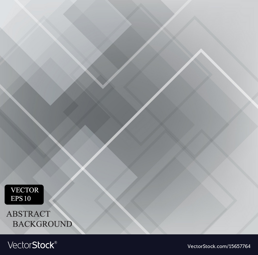 Dark gray square pattern wallpaper design vector image