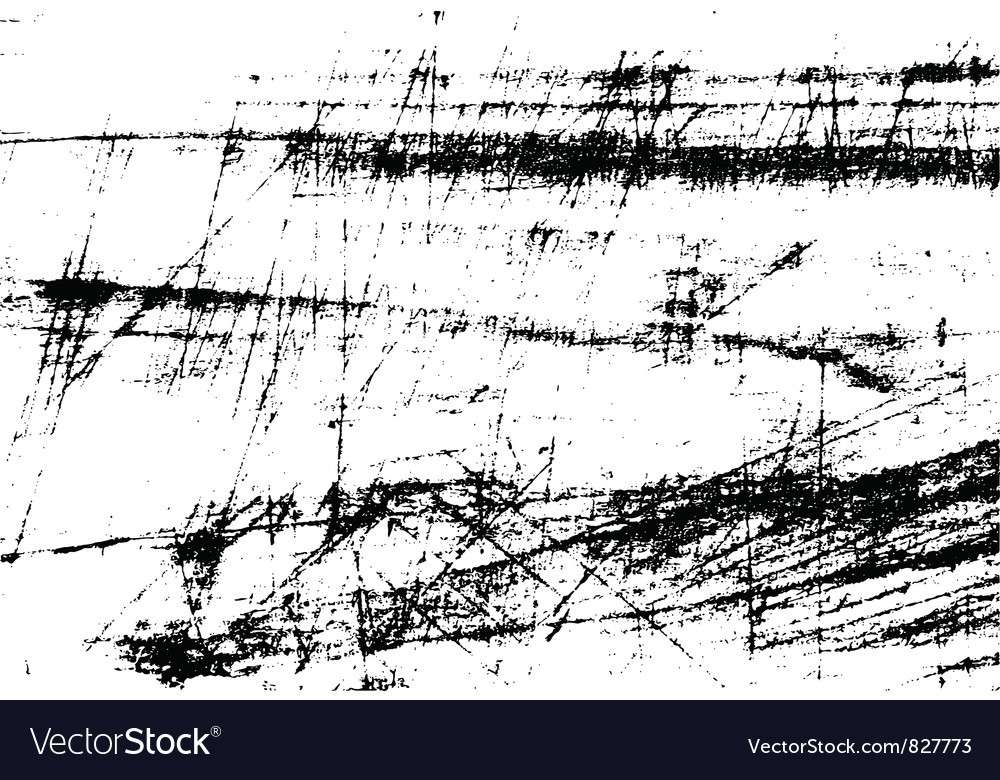 Scratch background vector image
