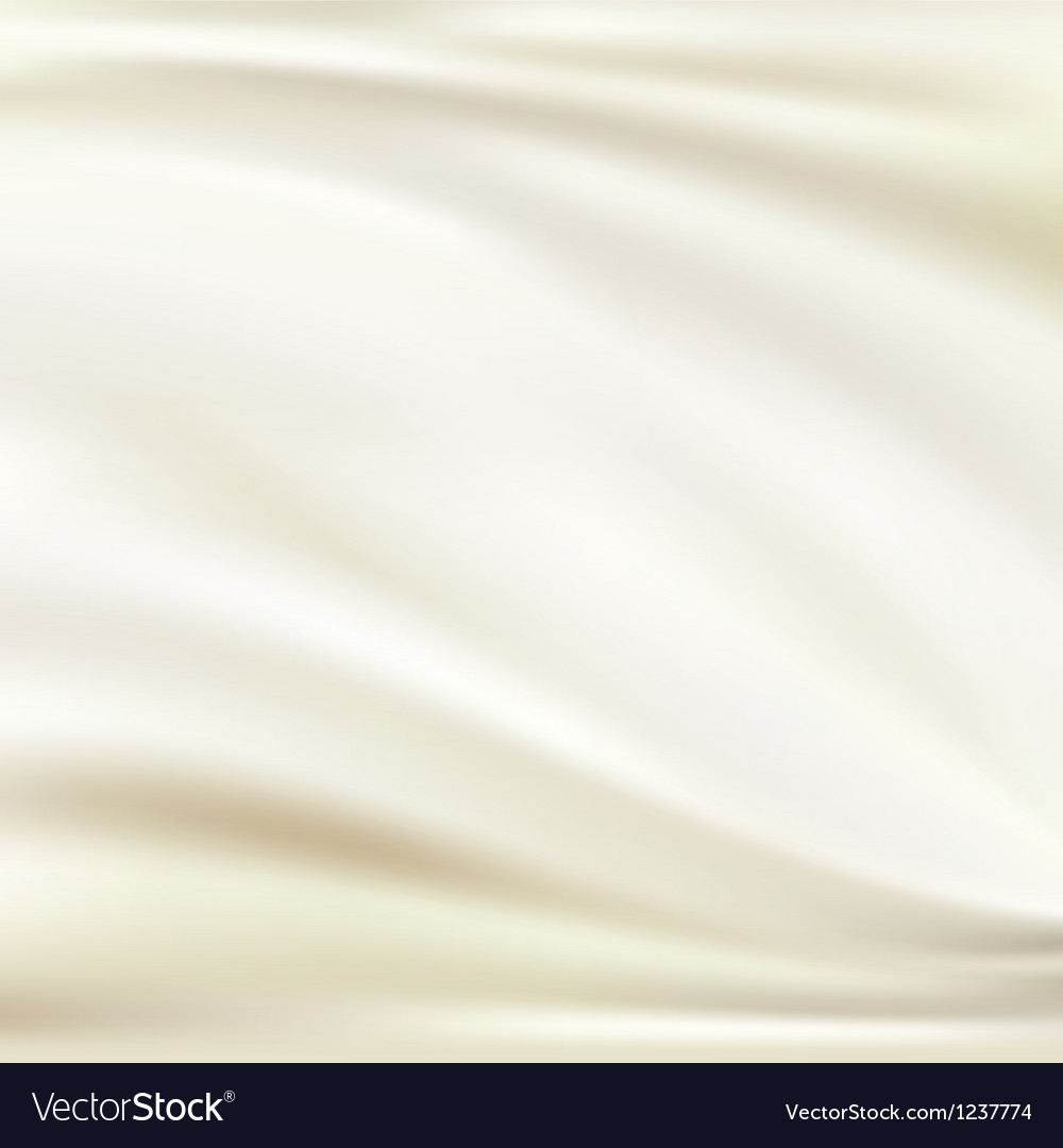 White silk background vector image