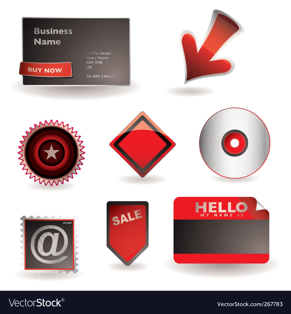 Business information concept vector image