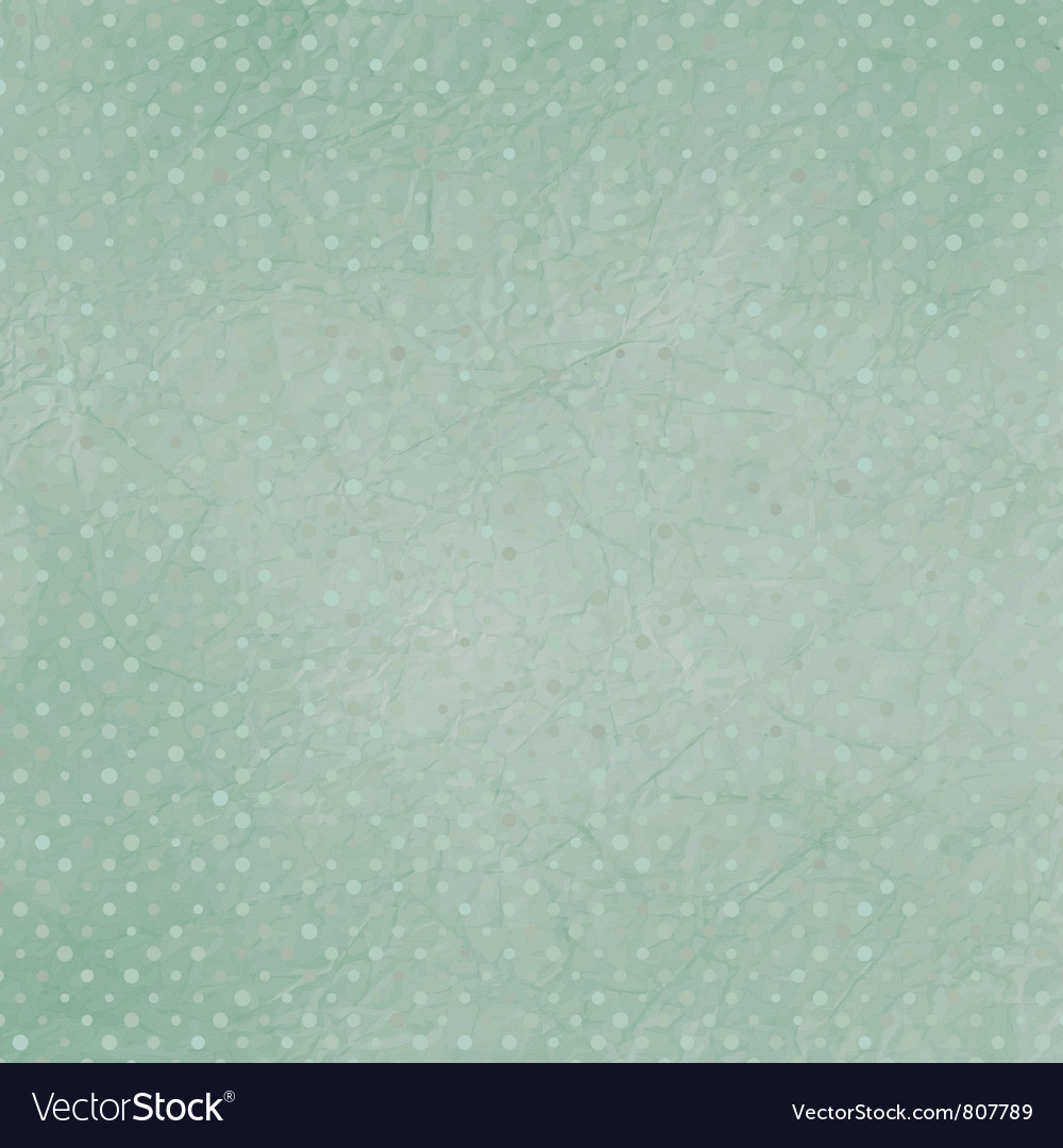 Vintage Polka Dots Vector Image