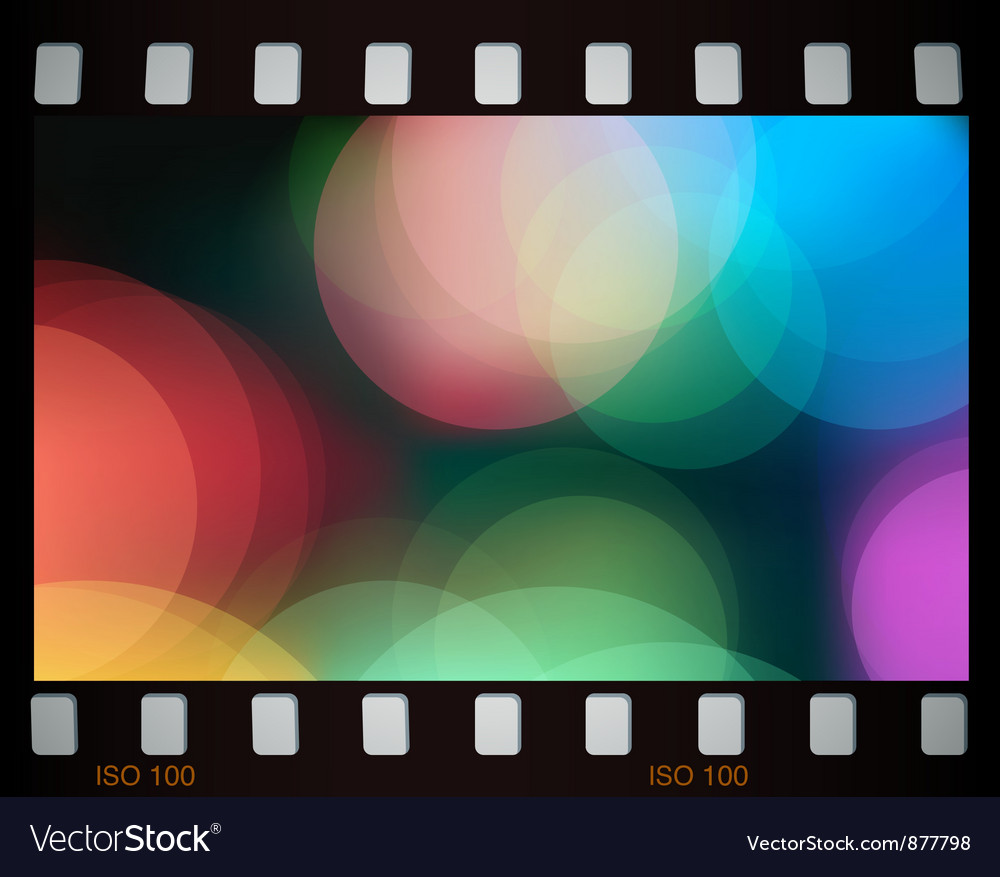 Colorful lights vector image