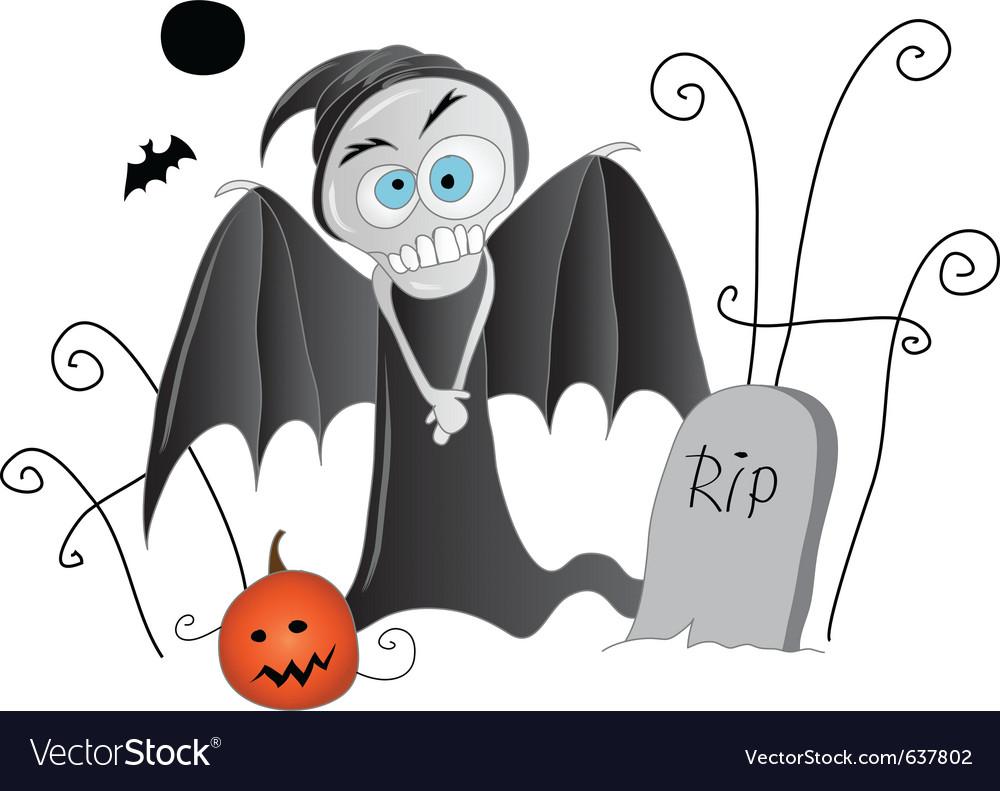 Halloween friends vector image