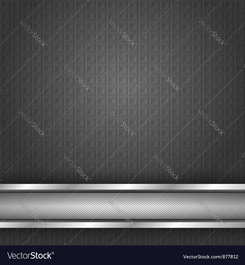 Metal surface iron texture vector image