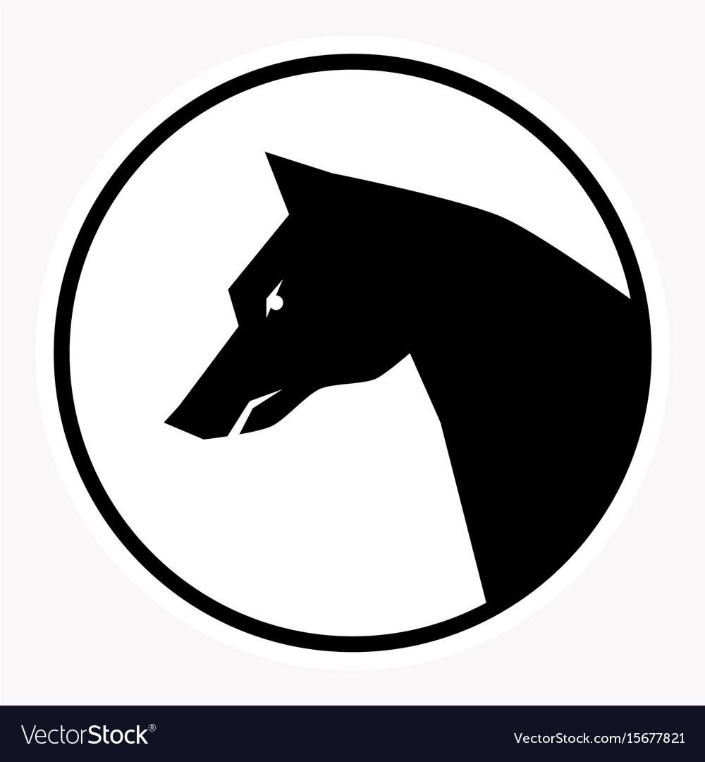 Warning and danger sign attention symbol vector image