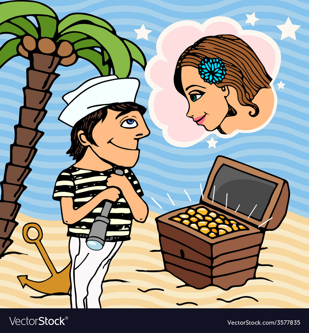 Love in Venice vector image