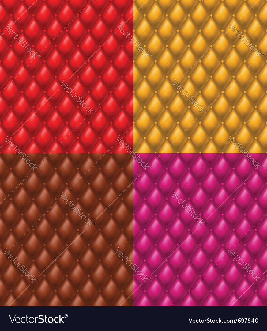 Colorful upholstery vector image