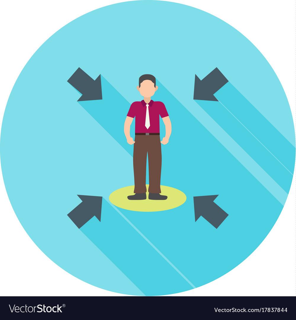 Influencing skills vector image