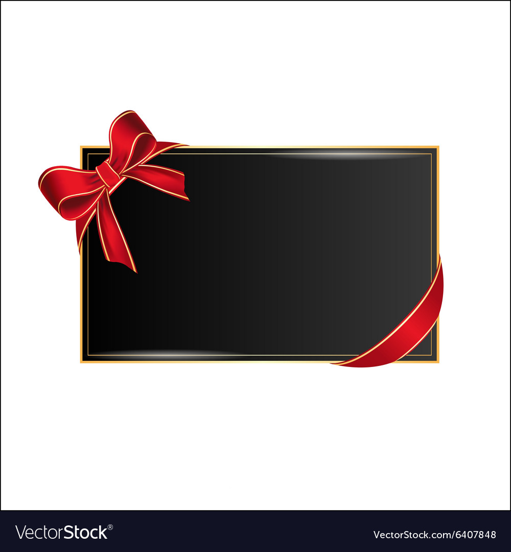 Card with place for your text vector image