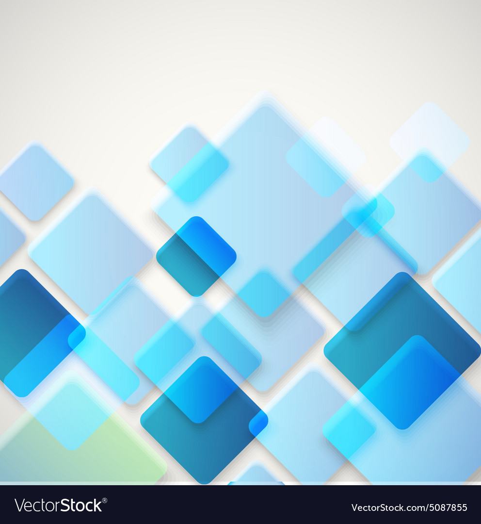 Abstract background of different color square Vector Image