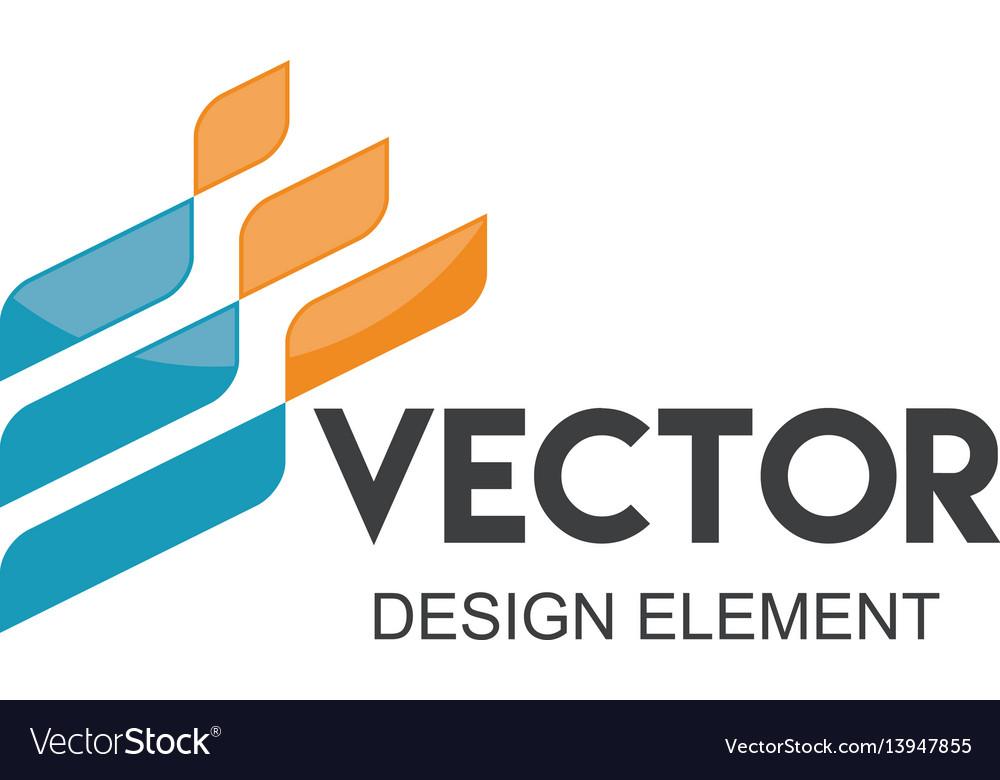 Abstract company logo vector image