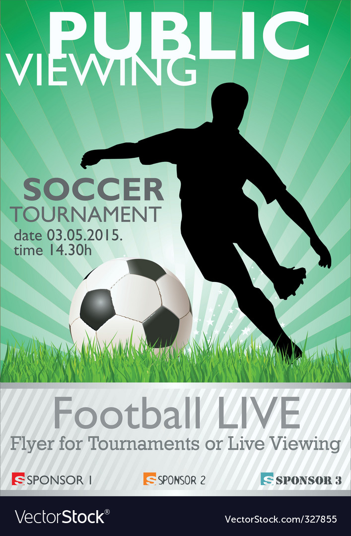 Football Tournament Poster Template Free Leoncapers