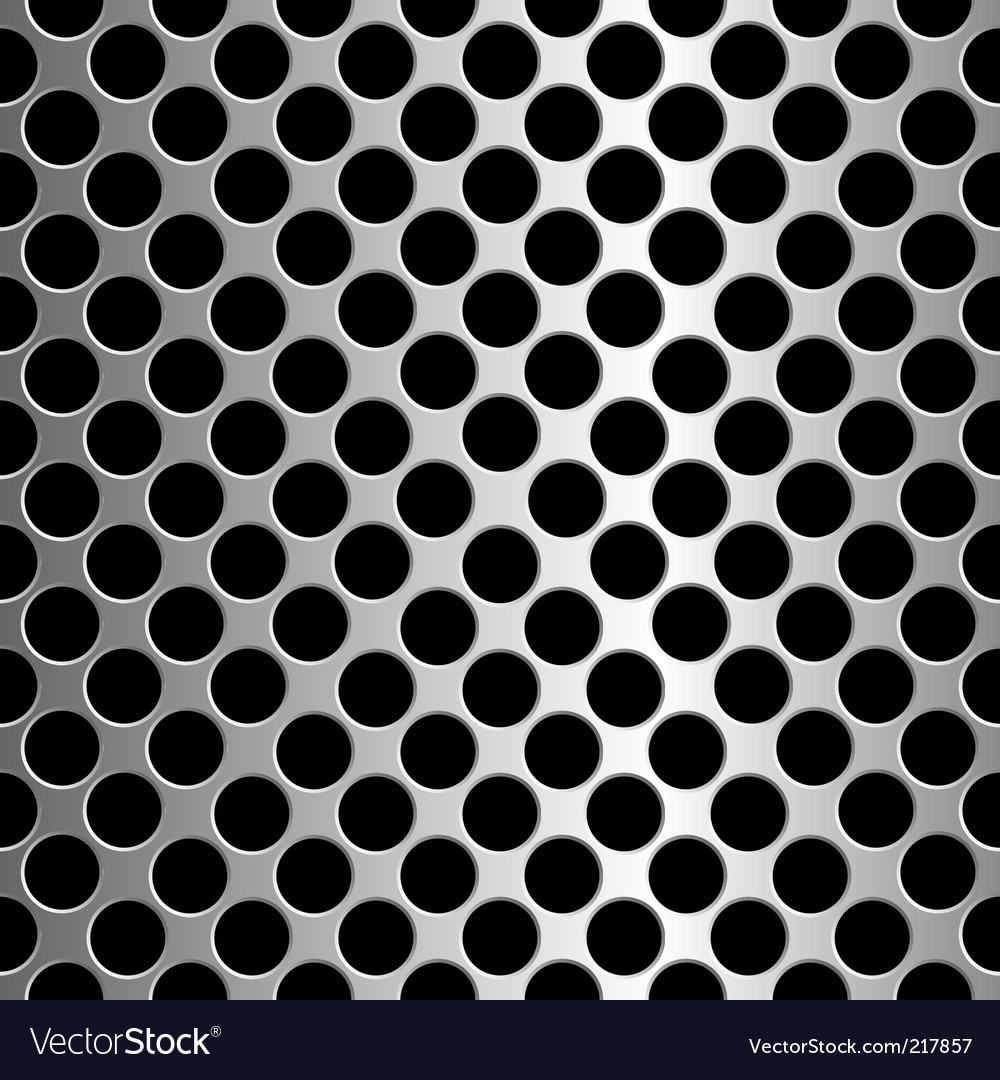 Metallic circles Vector Image