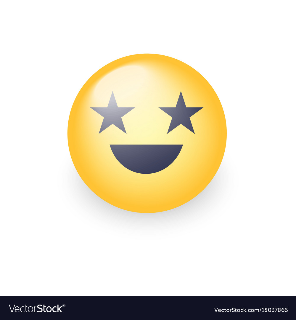 Happy laughing emoji face with eyes in the form of happy laughing emoji face with eyes in the form of vector image sciox Gallery