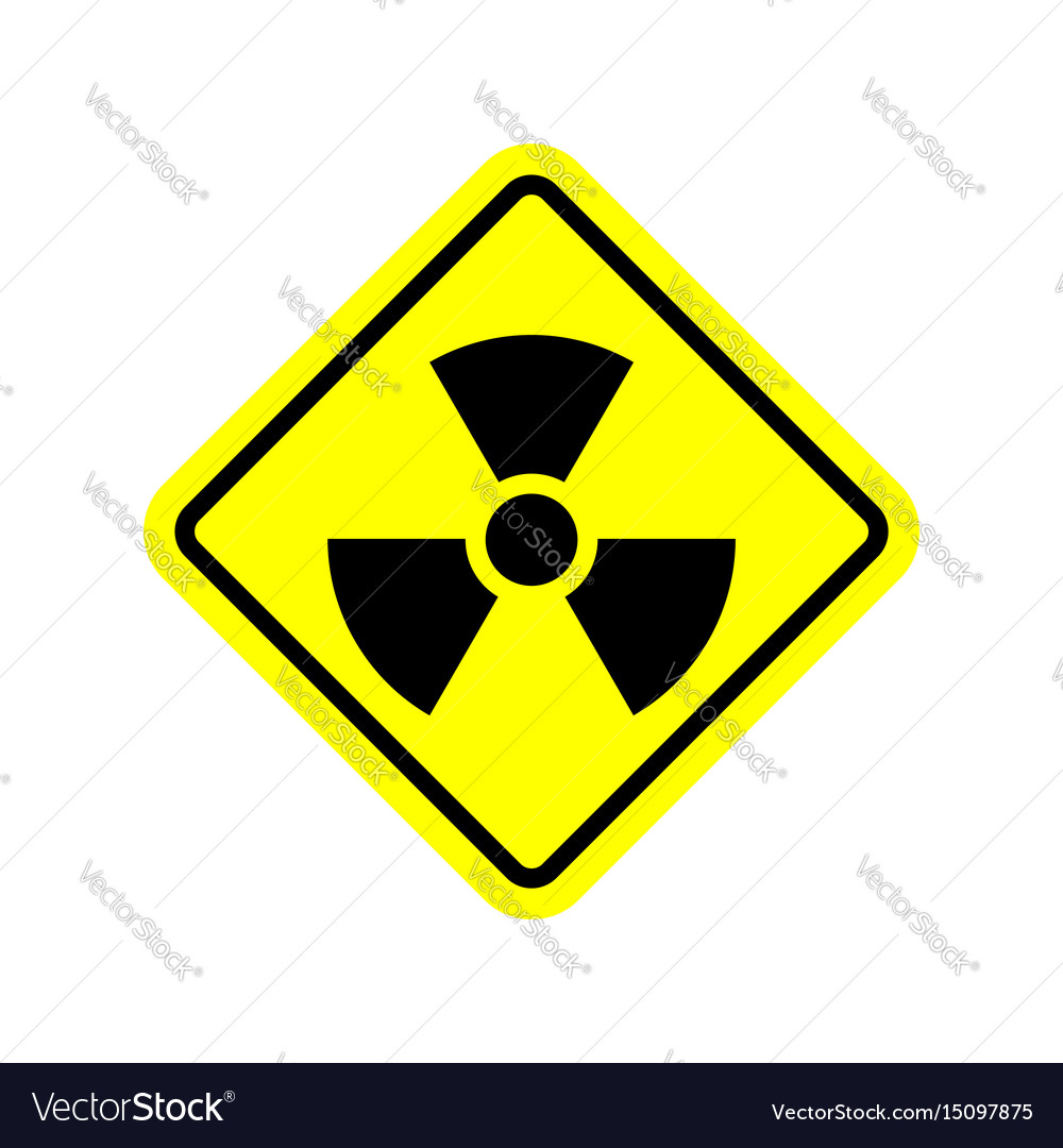 Radiation danger sign caution chemical hazards vector image radiation danger sign caution chemical hazards vector image buycottarizona