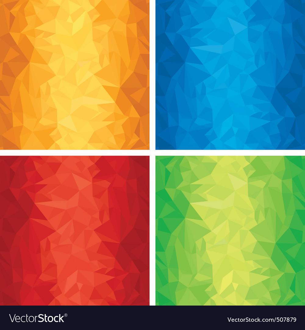 Distorted texture vector image