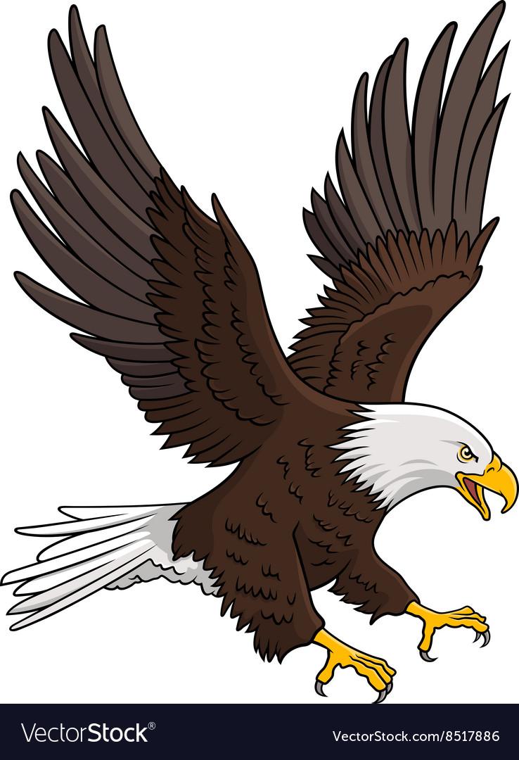 Eagle 005 vector image