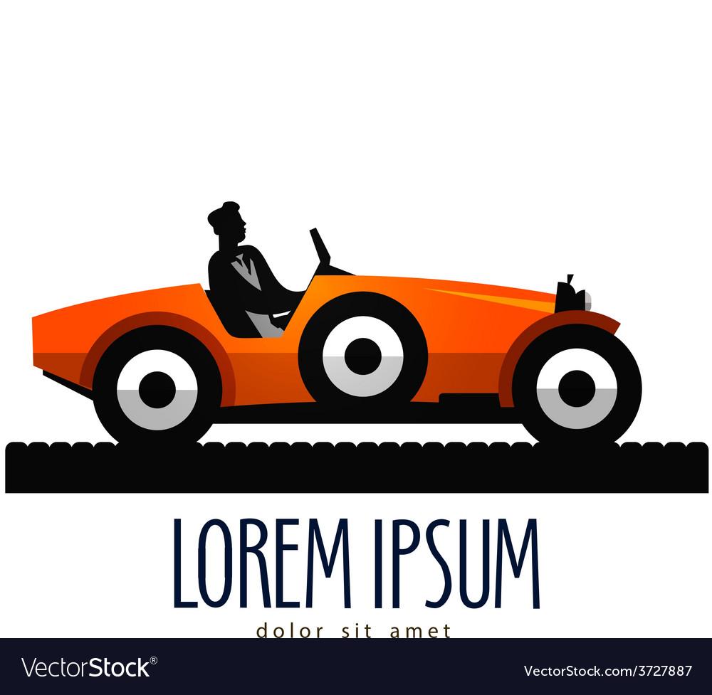 Car logo design template transport or vector image