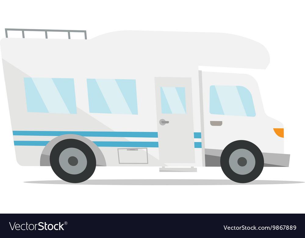 Modern Camper Van Royalty Free Vector Image
