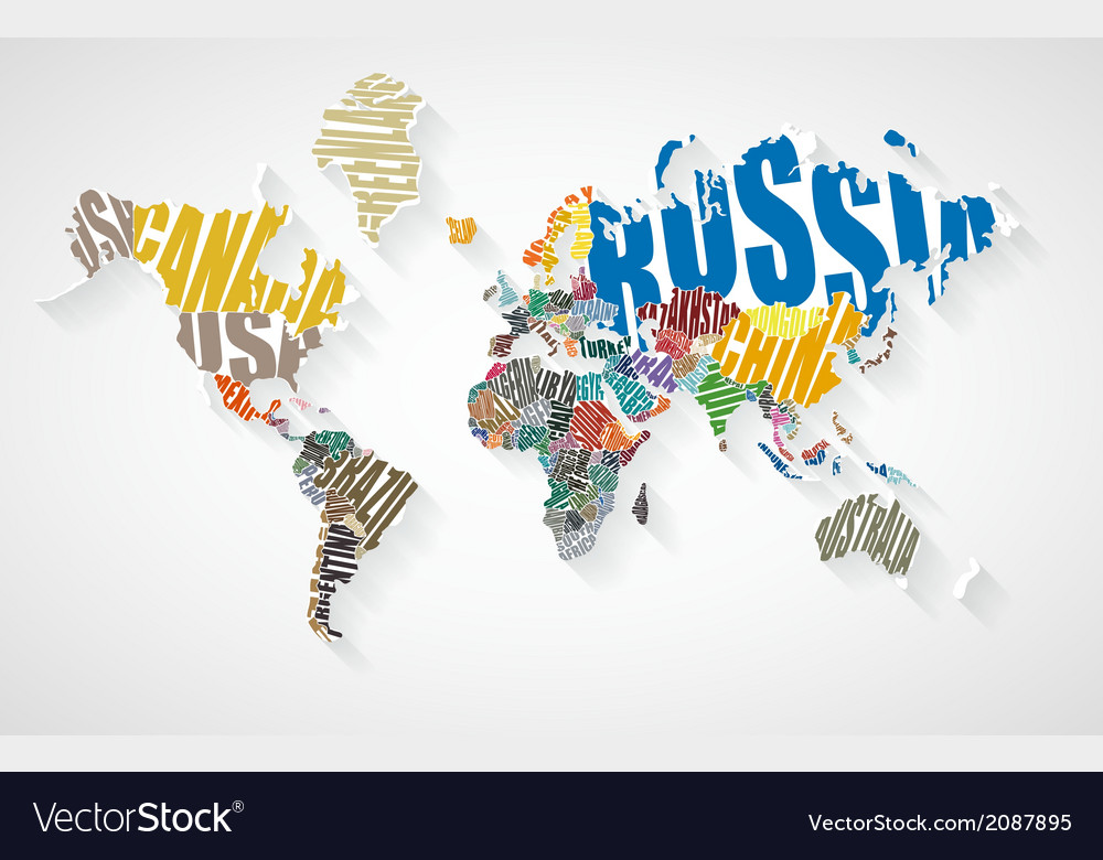 Text world map royalty free vector image vectorstock text world map vector image gumiabroncs Gallery