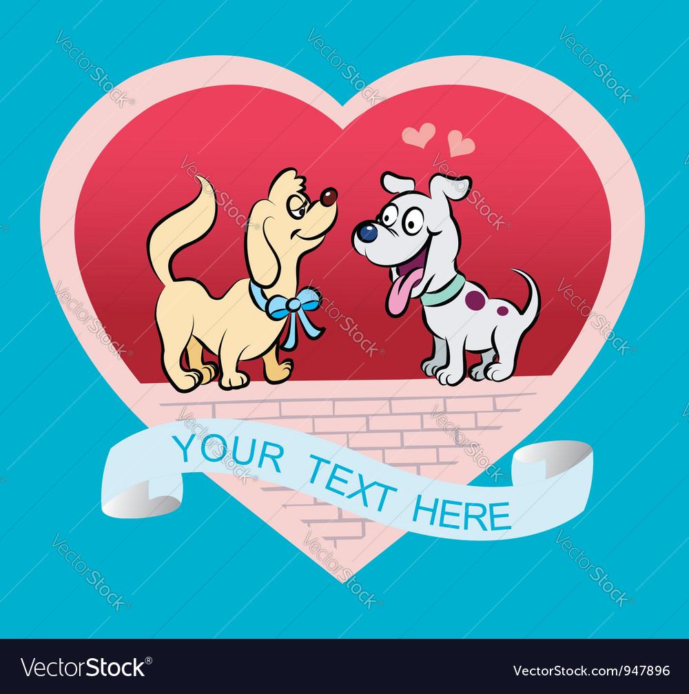 Doggy Cartoon vector image