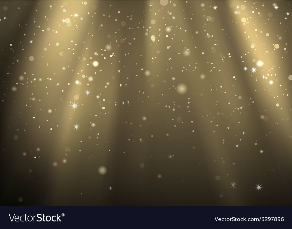 Light Rays And Light Dust vector image