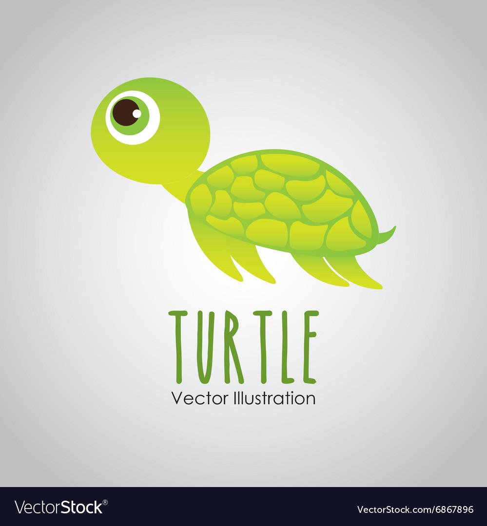 Sea animal design vector image