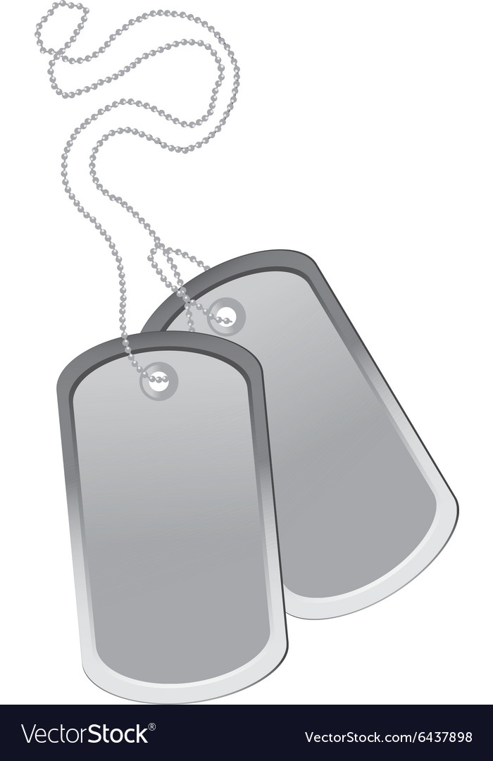 Dog tag Royalty Free V...