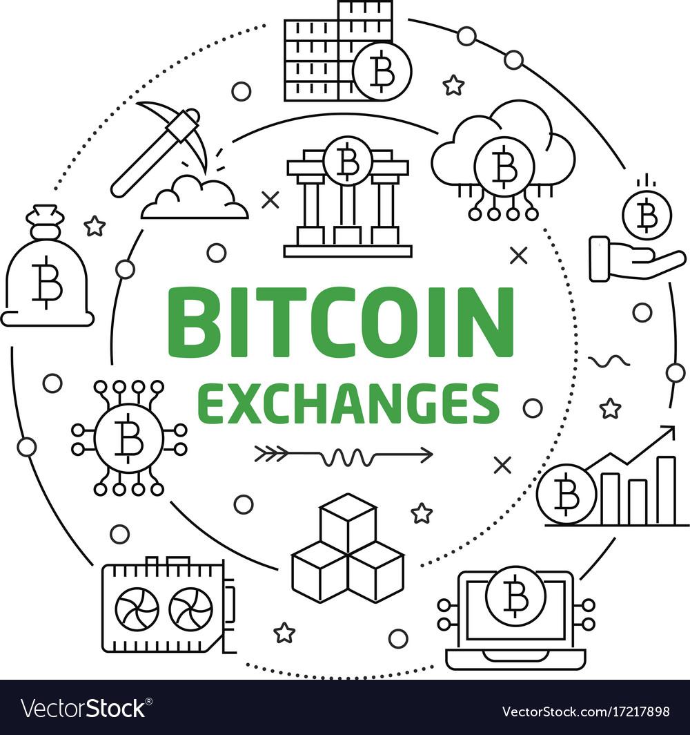 Circle bitcoin crypto innovations royalty free vector image circle bitcoin crypto innovations vector image ccuart Choice Image