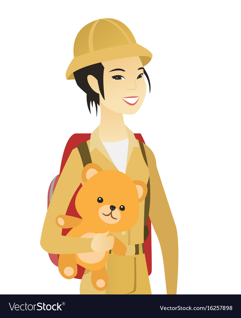 Asian Woman Travelling