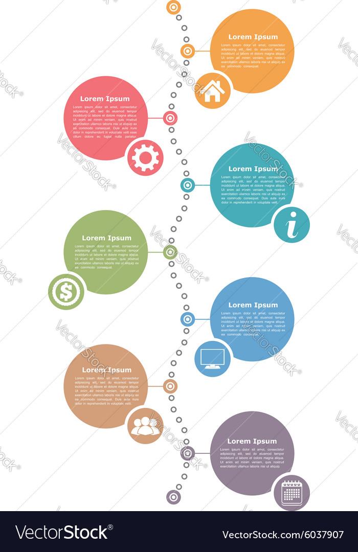 Free Vertical Timeline Template. timeline vertical report template ...