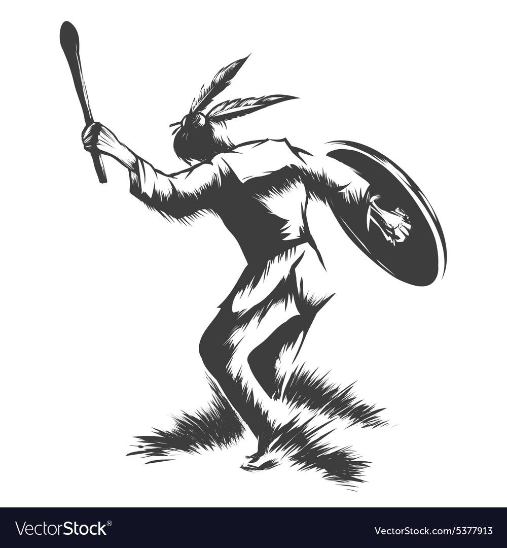 Shaman Dance vector image