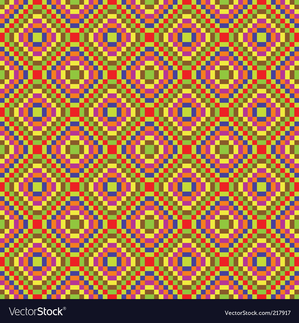 Funky pattern vector image